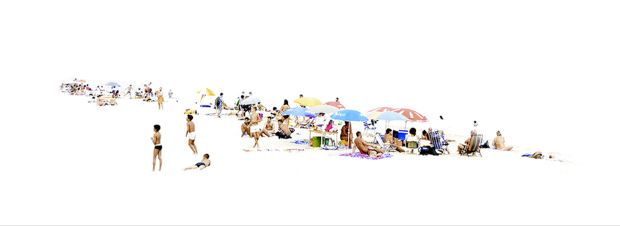 Jordi Salord: Standard Beach (on Canvas)
